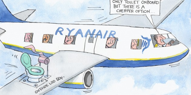 grumpy old man - ryanair